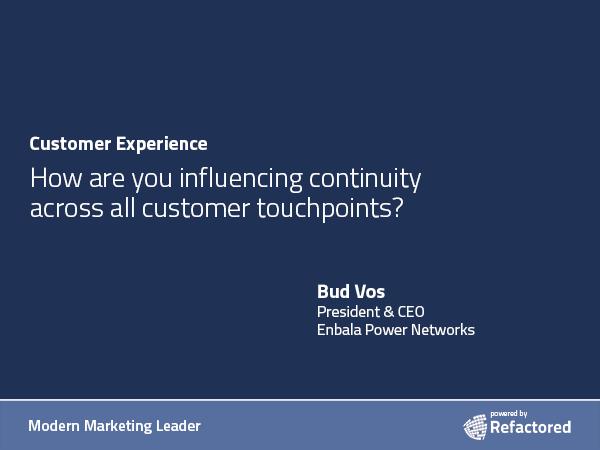 Customer defined success